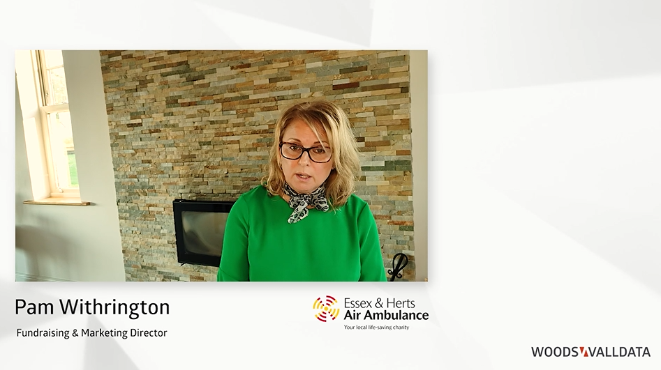 Interview with Pam Withrington, Fundraising & Marketing Director