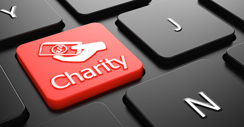 Charity lottery provider