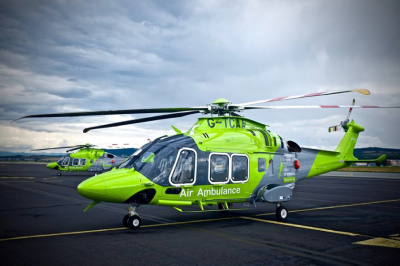 Charity raffle supports vital air ambulance services