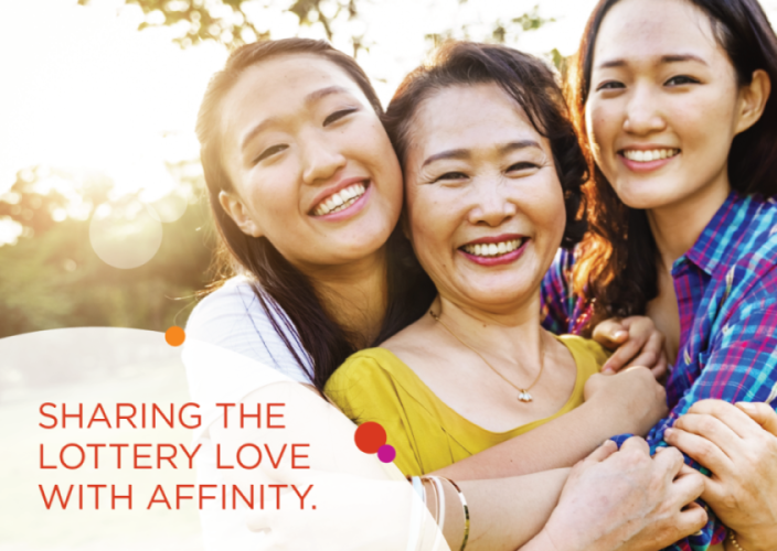Sharing the lottery love with Affinity Lottery